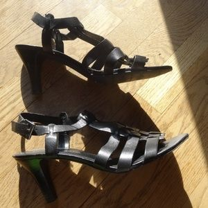 Franco Sarto black sandals size 9.5 M